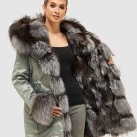 Dame vinter jakker, frakker og parka