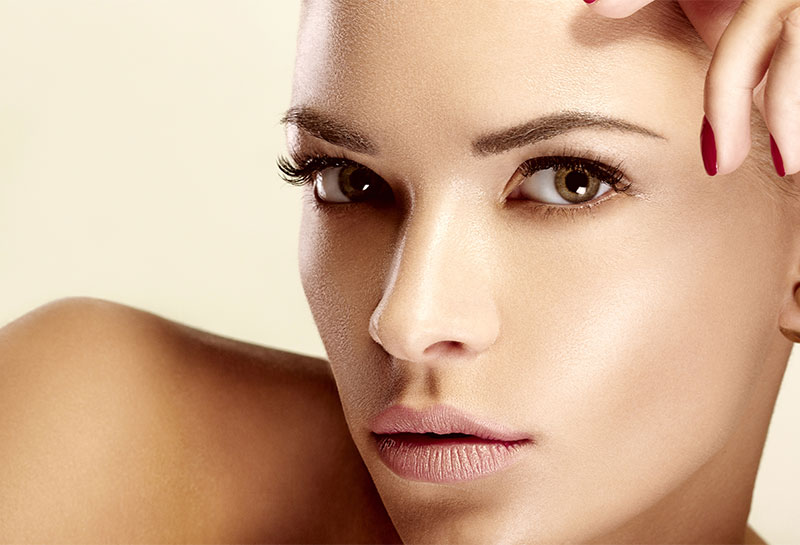 Kosmetolog behandling